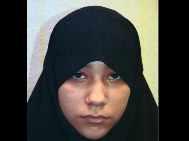 Safaa Boular was reportedly radicalised online. Picture: Metropolitan Police via AP
