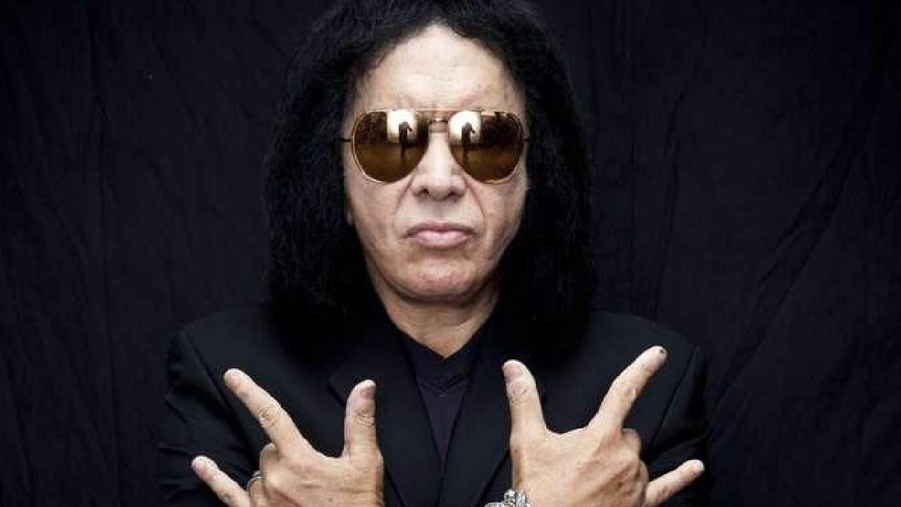KISS bass player and singer Gene Simmons. Picture: Supplied