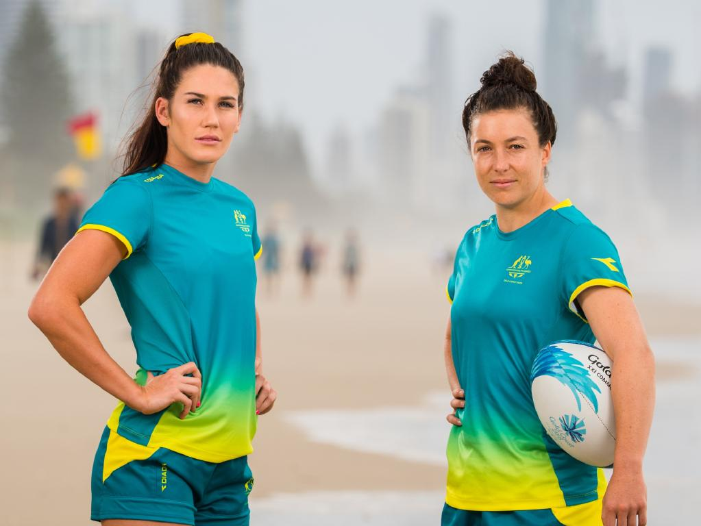 Charlotte Caslick and Emilee Cherry are two of the most capped players. Pic: RUGBY.com.au/Stuart Walmsley