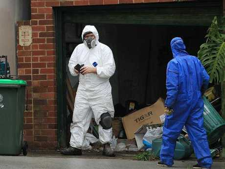 The dead man's sister saw the TV news about a body found at Greenwich (above) before police knocked on her door. Picture:News Corp Australia