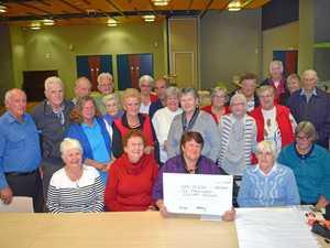 Seniors unite for good cause