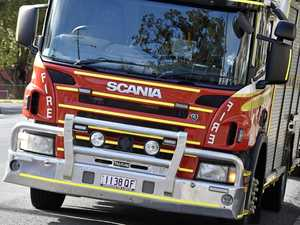 Five people evacuated after fire at Warwick home