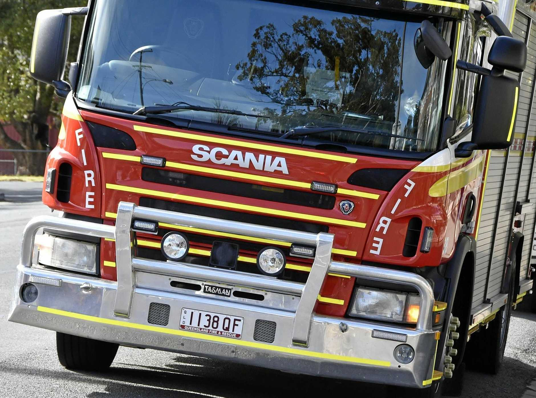 Emergency Services are on scene at Lyons Street to contain a gas leak.