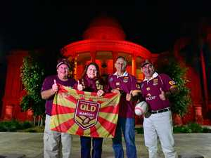 Rocky councillors light up CBD in origin spirit