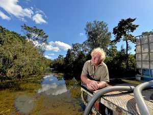 Residents worried mega farm is polluting creek