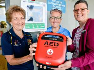 IGA defibrillator saving lives for Calliope residents