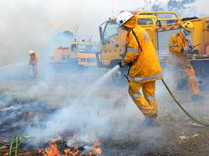 Firefighters contain Crows Nest bushfire