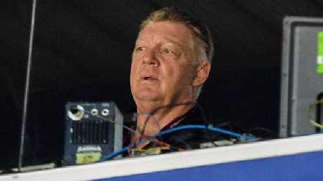 Phil Gould kept quiet during Origin I, unfortunately for Queensland. Picture: AAP Image/Brendan Esposito