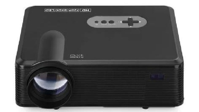 The Kogan projector looks like other similar products on the market.