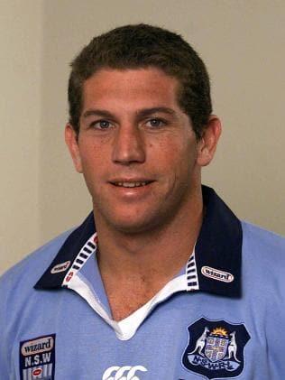 Bryan Fletcher during the 2001 series