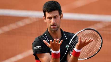 Serbia's Novak Djokovic.