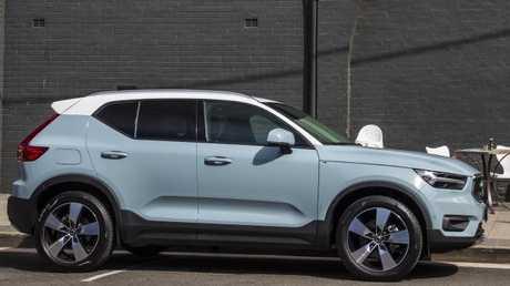 Photo of the 2018 Volvo XC40.