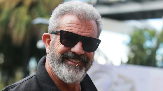 Actor Mel Gibson leaves Stokehouse restaurant in South Bank, Brisbane on Wednesday, June 6, 2018. (AAP Image/Claudia Baxter)