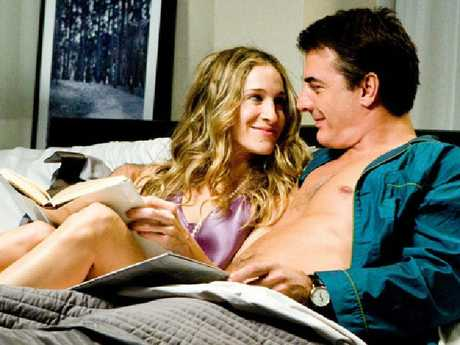 Carrie Bradshaw ended up with her on-again-off-again partner Mr Big.