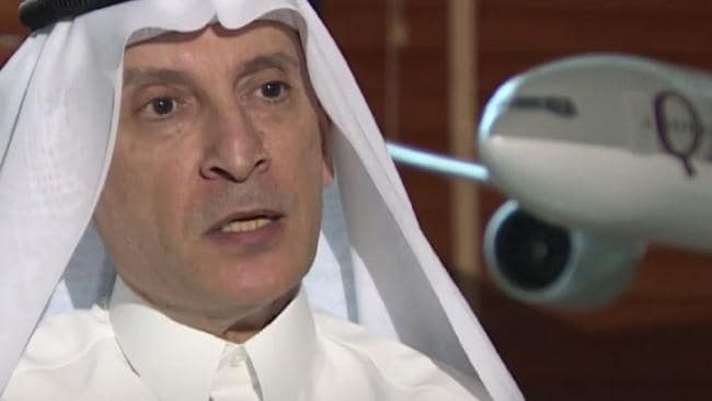 Al-Baker has apologised for the remarks. Picture: Screengrab/Al Jazeera