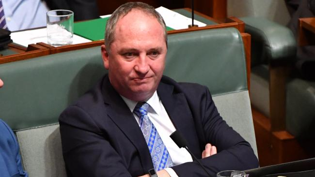 Barnaby Joyce's political nemesis believes the beleaguered former deputy prime minister will bow out before the next election and hasn't ruled out a run of his own. Joyce to recontest New England at next election