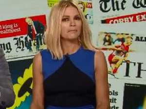 Sonia Kruger's awkward blow