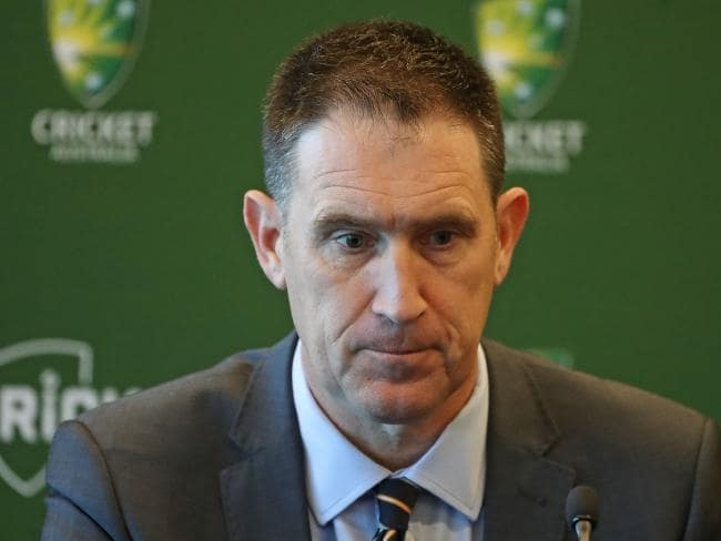 Cricket Australia chief executive James Sutherland will step down in 12 months
