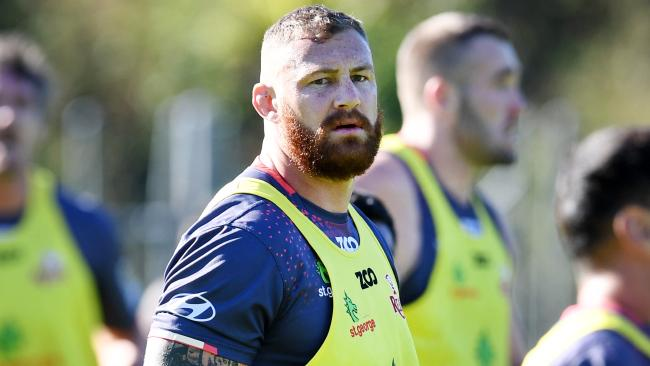 Scott Higginbotham is available for selection. Photo: AAP.
