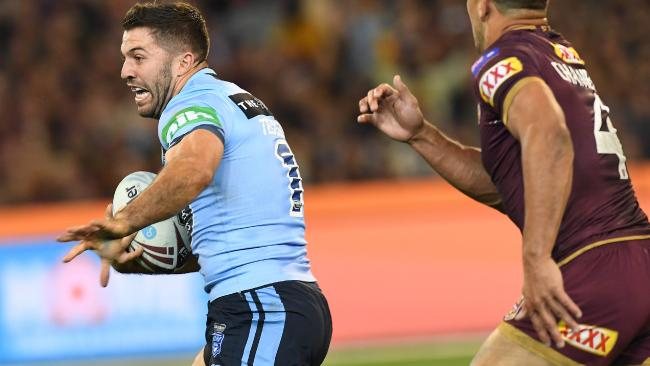 James Tedesco was always just out of reach. (AAP Image/Julian Smith)