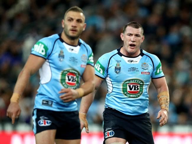 Double trouble in the form of Robbie Farah (left) and our most-hated, Paul Gallen