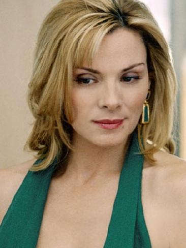 Kim Cattrall played the sexually confident Samantha Jones.