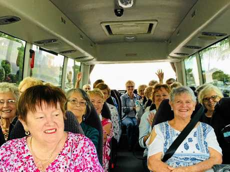There was a buzz all around during the social outing recently of the Burleigh Heads Ladies Probus Club.