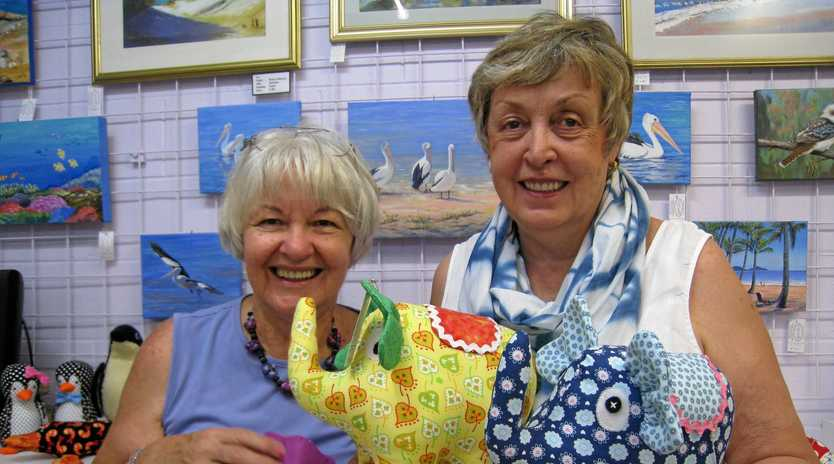 UNIQUE DISPLAY: Caloundra Arts Centre Association is holding their popular Arts & Crafts Fair on Saturday, June 9 and Sunday, June 10.
