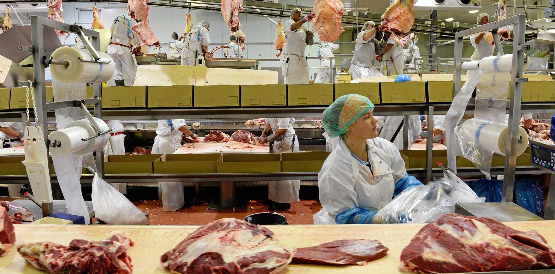 Thomas Borthwick and Sons Meatworks and Abbatoir is looking for more workers.