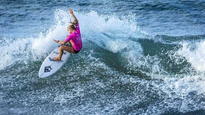 PROFESSIONAL HOPES: Alexandra Headland's Sophie McCulloch will compete against the world's best up-and-coming surfers in  Mexico .