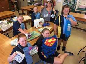 Sewing bee for eco bags needs volunteers