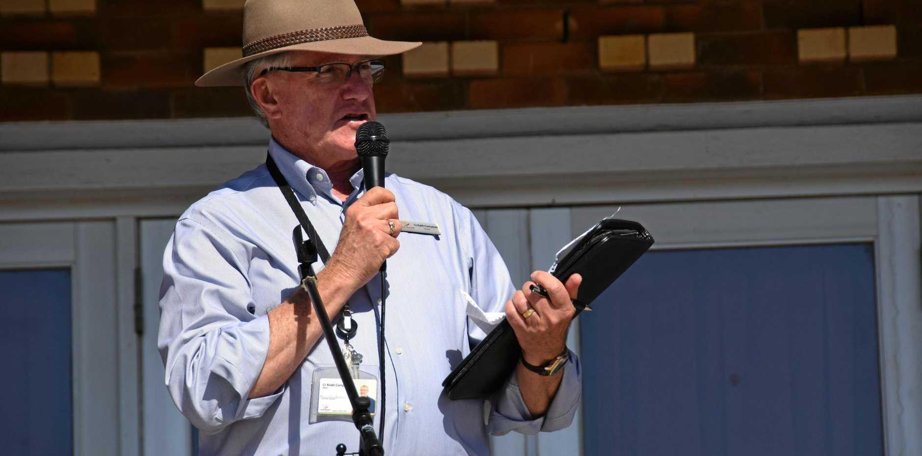 Mayor Keith Campbell