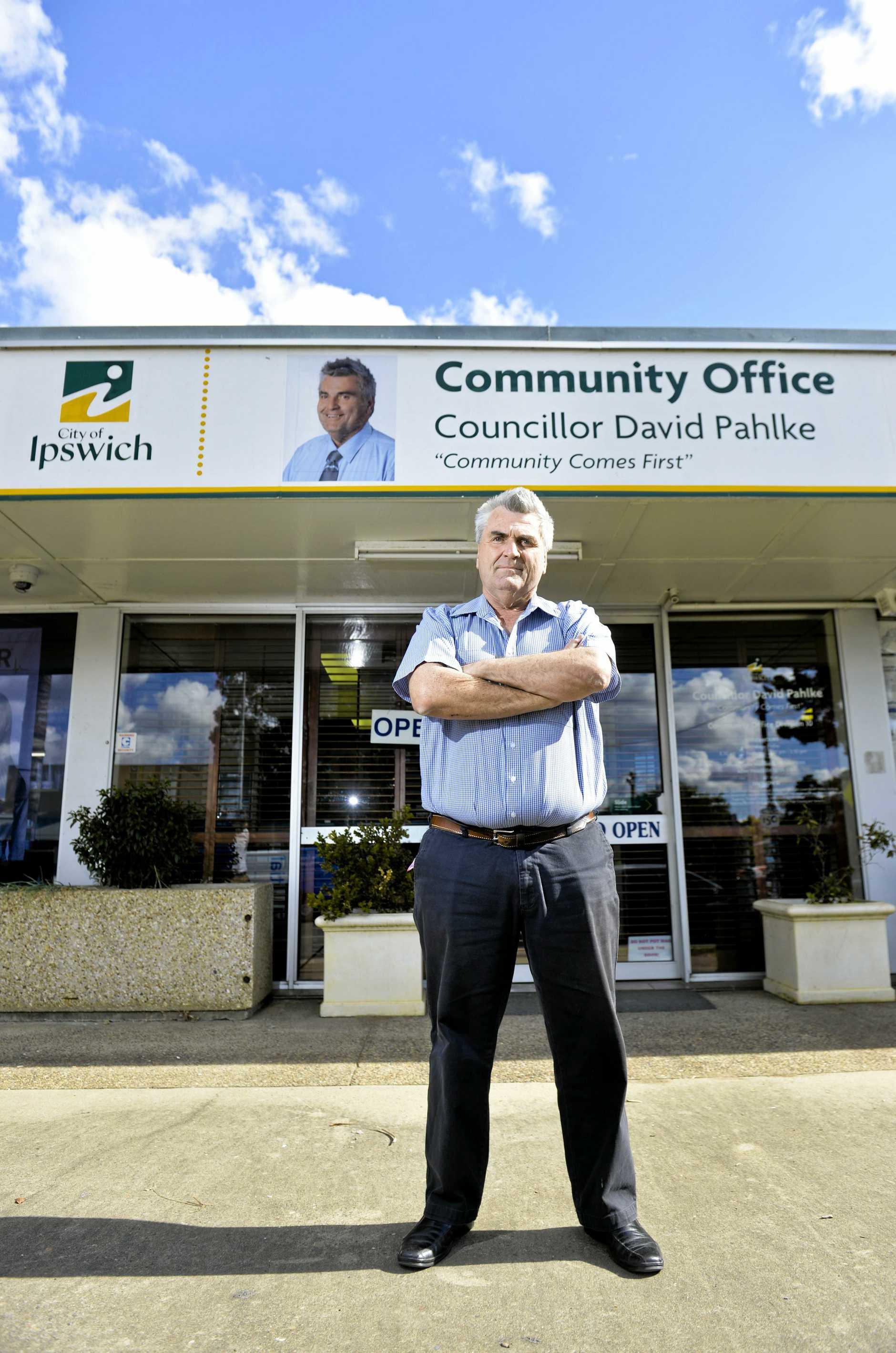 Councillor David Pahlke reflects on his upcoming sacking.