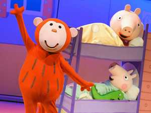 High-energy family show with Peppa Pig