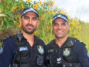 'We don't do boring': Gympie cops' brave rescue goes viral