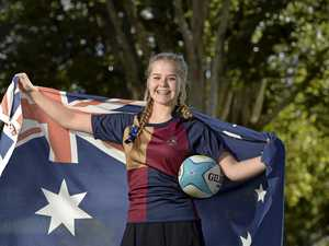 Student excited by 'Australian duties'