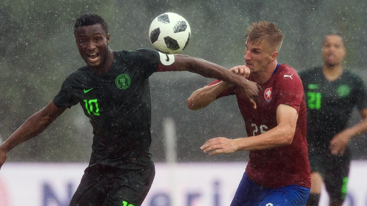 Nigeria have hit some troubling form with the Cup just days away.
