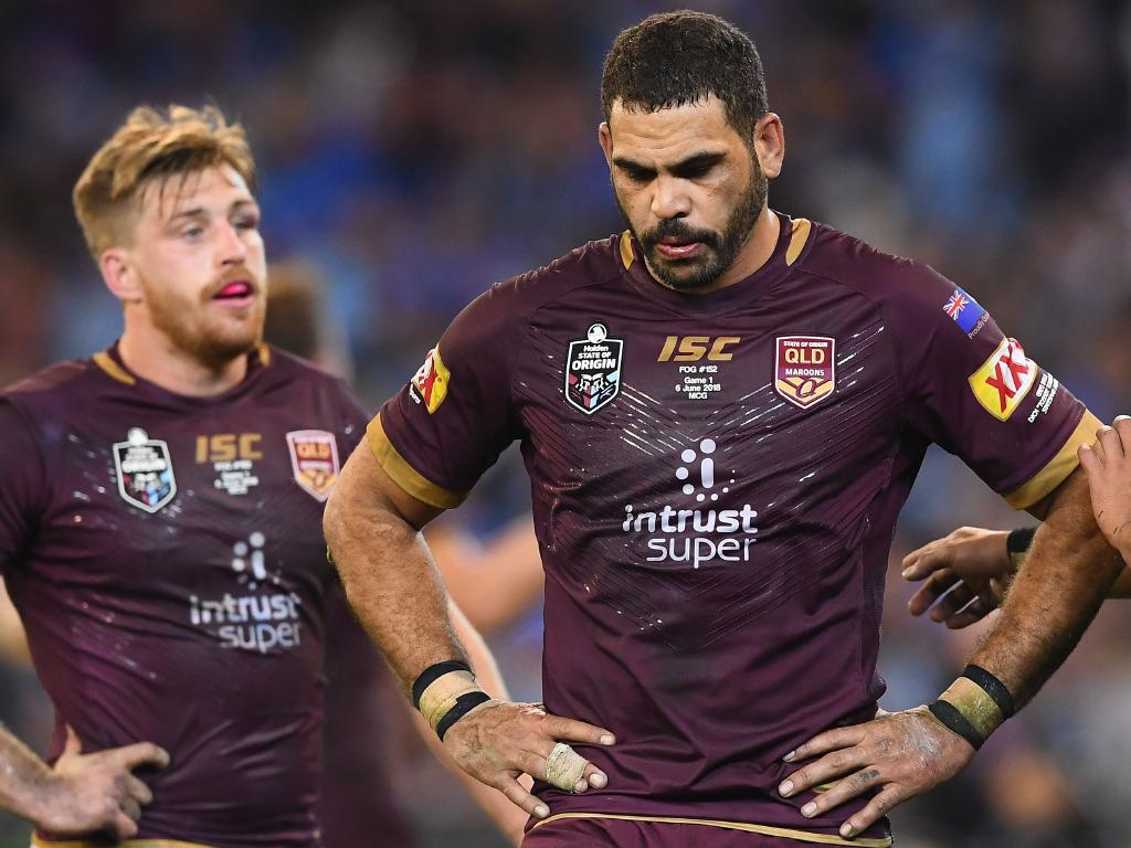 Greg Inglis was a standout for the Maroons in Origin I.