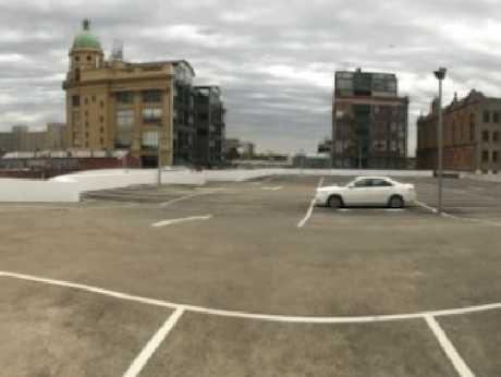 The Chapel Street car park where Spencer Tunick had hoped to shoot.