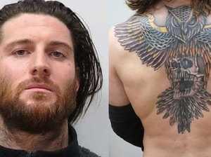 WHAT'S IT HIDING? Dark secret behind distinctive tattoo