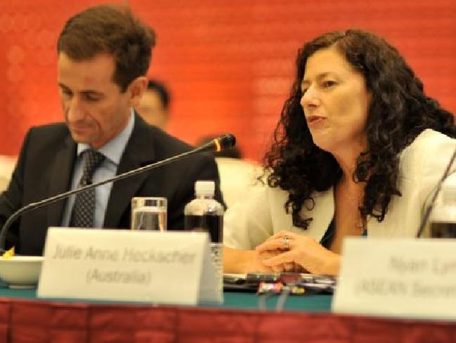 Julie Heckscher, DFAT's first assistant secretary Southeast Asia division. Picture: Supplied