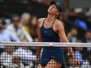Sharapova hits back at Williams