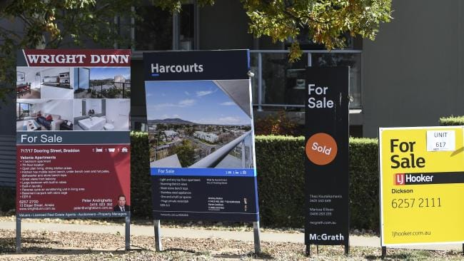 Canberra is one of the only capital cities that has a housing market that isn't in a state of downturn. Picture: Lukas Coch