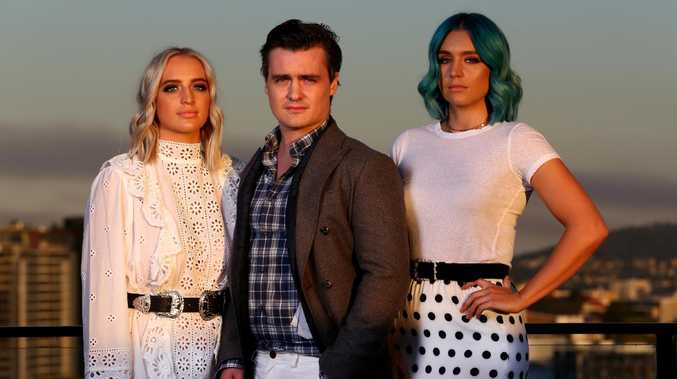 Brisbane band Sheppard have opened up about their feud with Katie Noonan to U on Sunday. Inside the Sheppard house