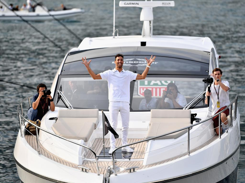 Life is good for Daniel Ricciardo. (Photo by Dan Mullan/Getty Images)