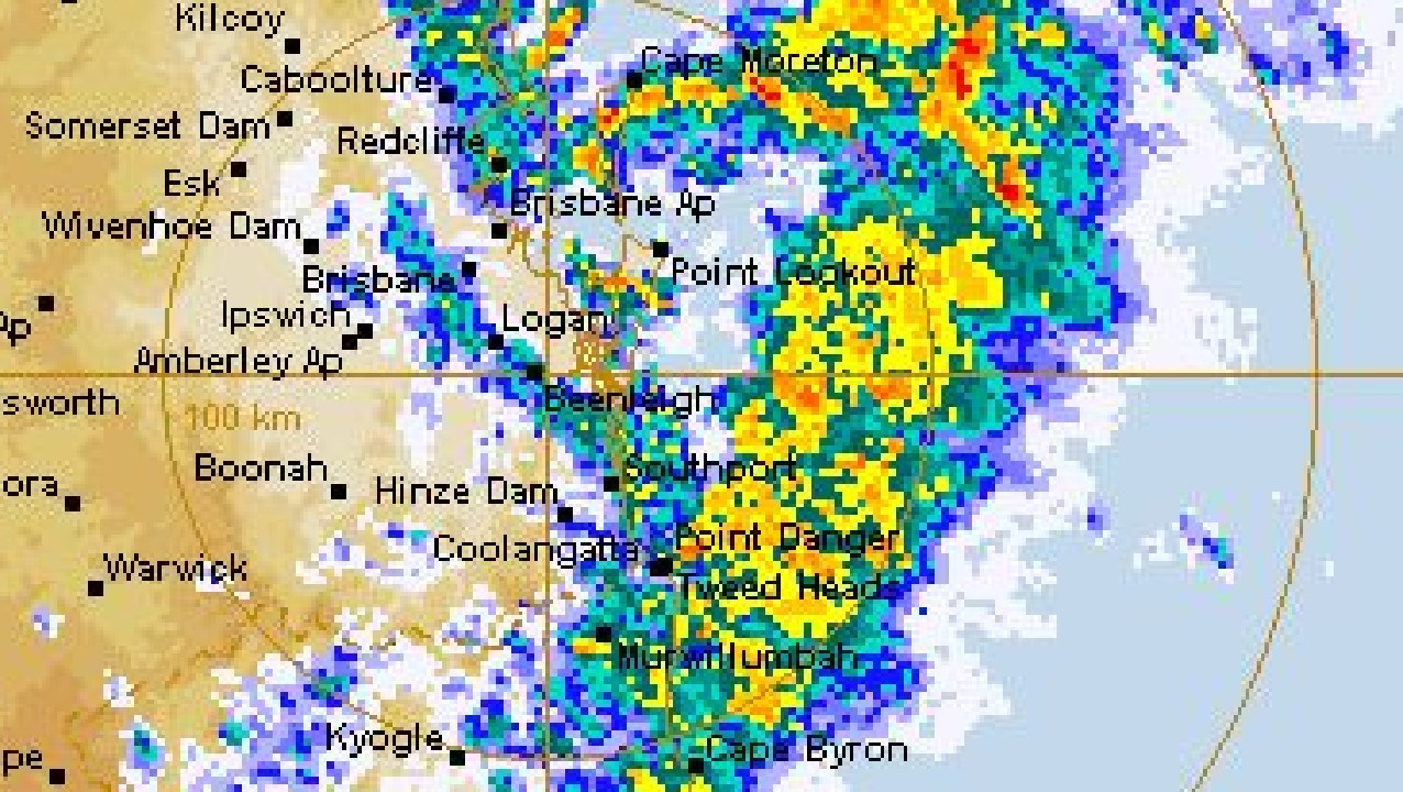 Rain is expected across south-east Queensland.
