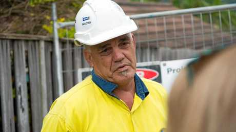 All Areas Demolition and Excavation, site manager Grant Norton