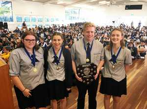 Bundy High team proves they're up to the challenge