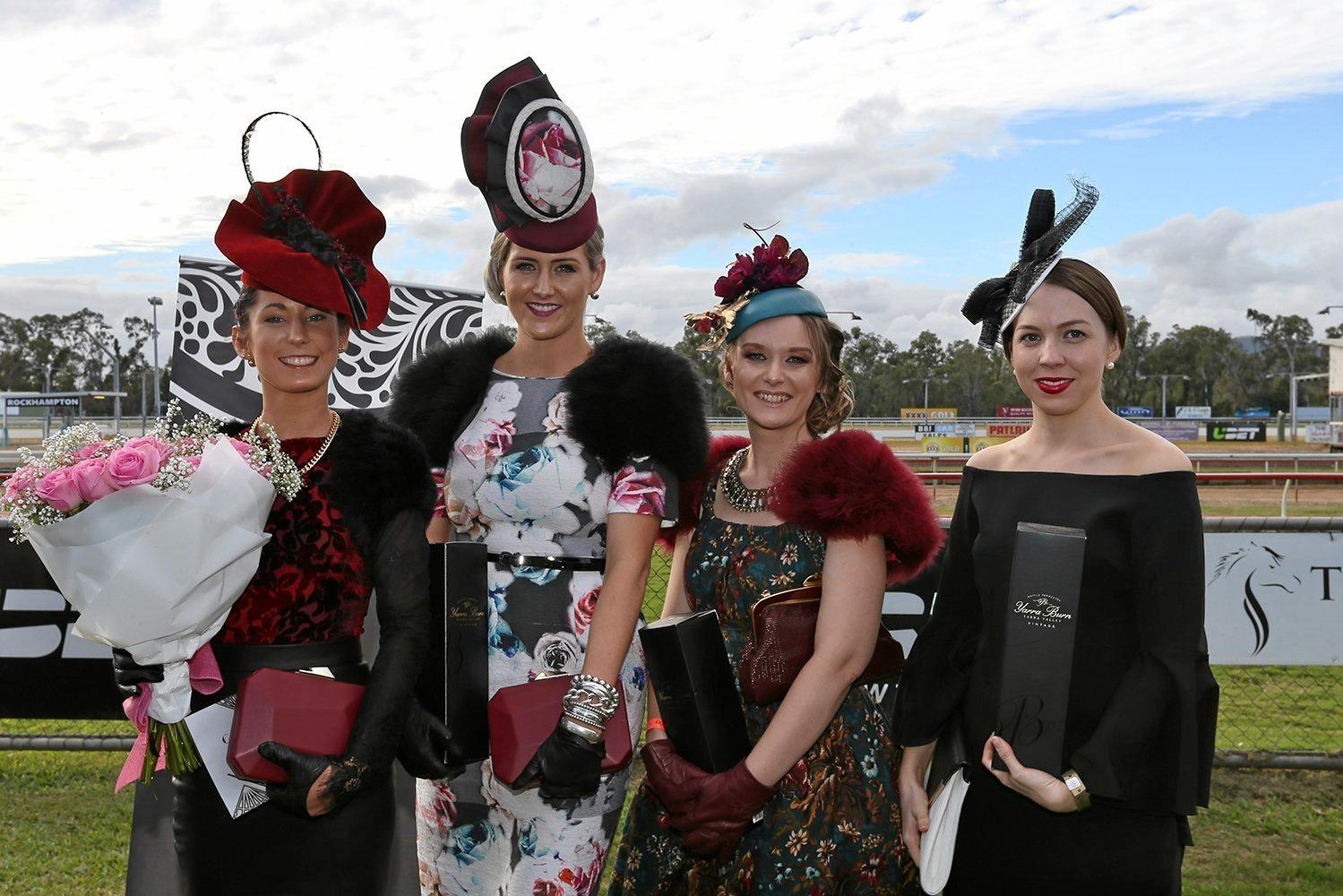 Winners at the Girls Grammar Rockhampton Race Day at Callaghan Park last year.