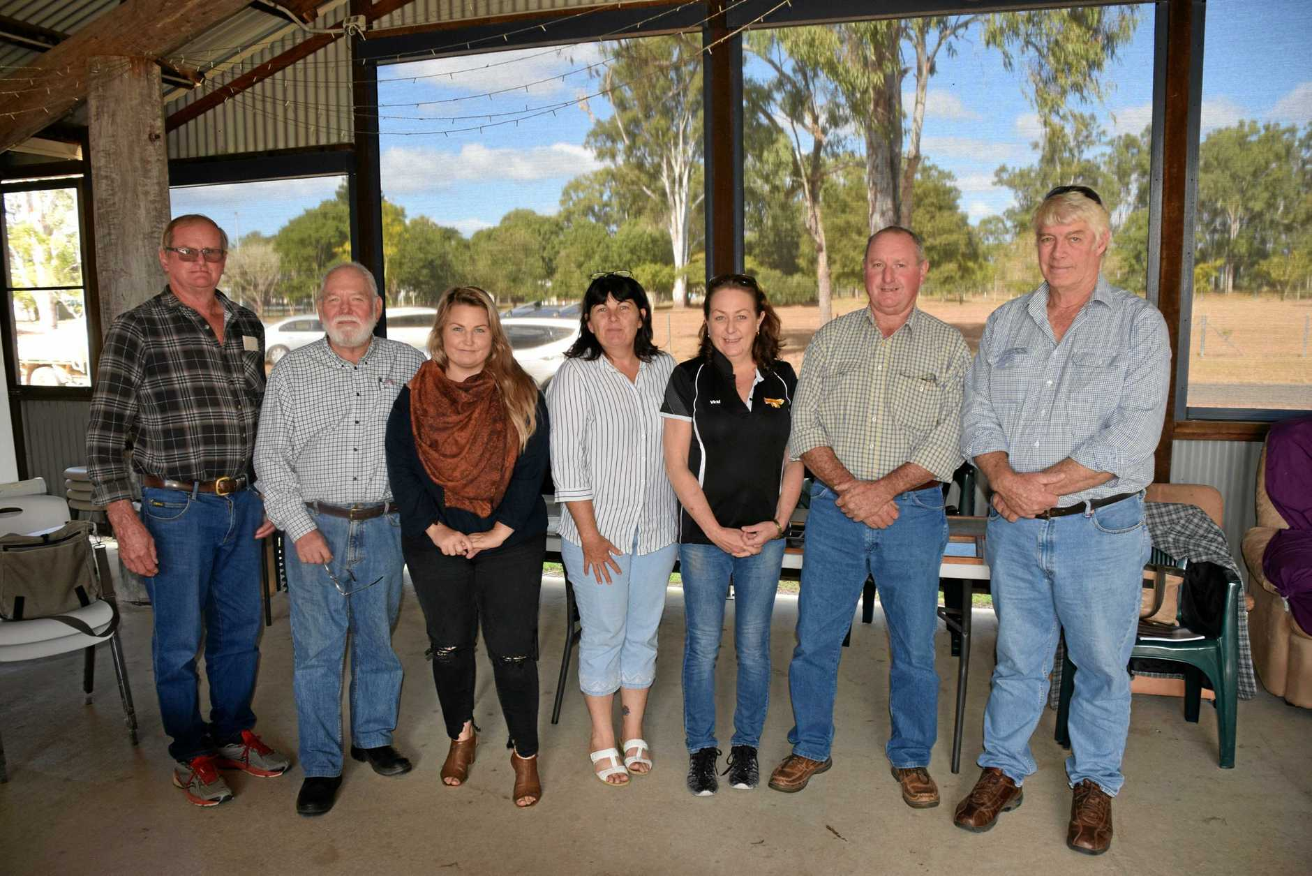 RAIL TRAIL INC: Neville Mossman, Mike Gobel, Meagan Ellerton, Tanya Huth, Vicki Mackay, Mick Colyer and Mark McLachlan